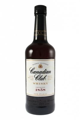 Canadian Club Canadian Whisky Small Batch 12 Year Classic